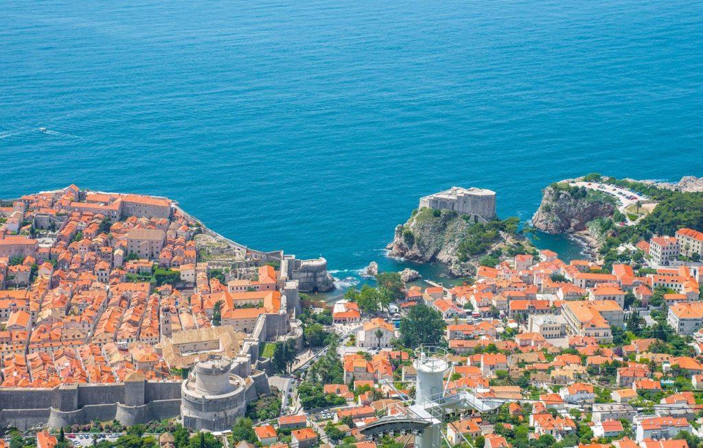 Dubrovnik Croatia Adriatic 4222