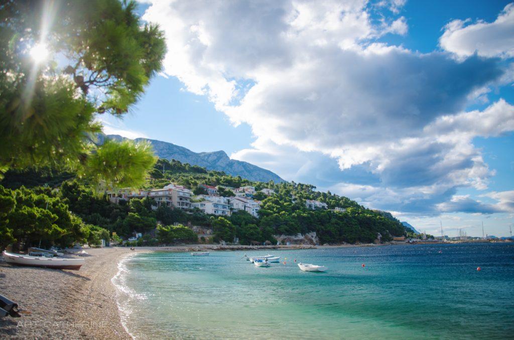 Khorvatiia Makarska Rivera Adriatika Adriaticheskoe More Pri