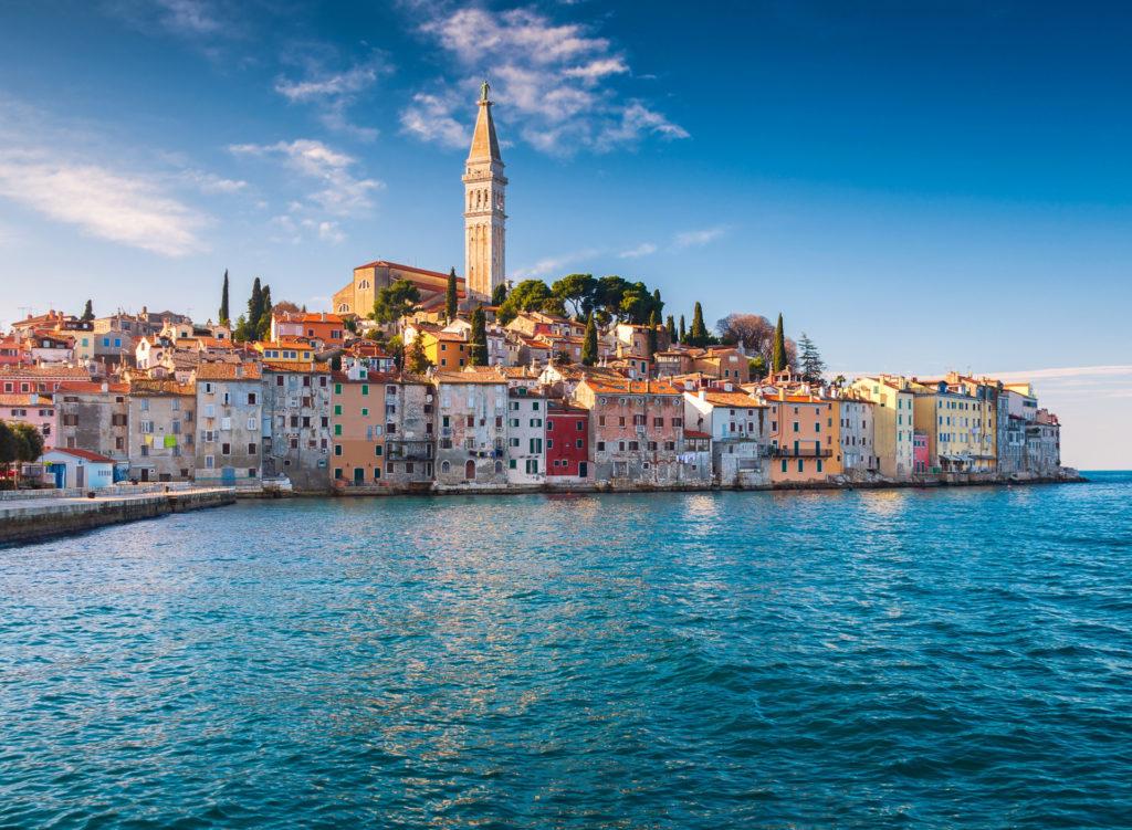 Rovinj Istria Croatia Adriatic Sea Rovin Istriia Khorvatiia